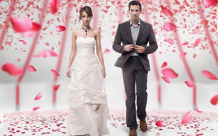 Свадебный конкурс: «Хитрые сердечки»