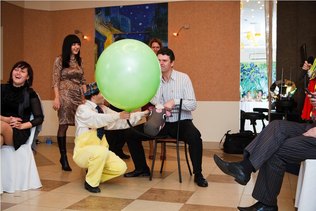 Свадебный конкурс: «Влюбленные инопланетяне»