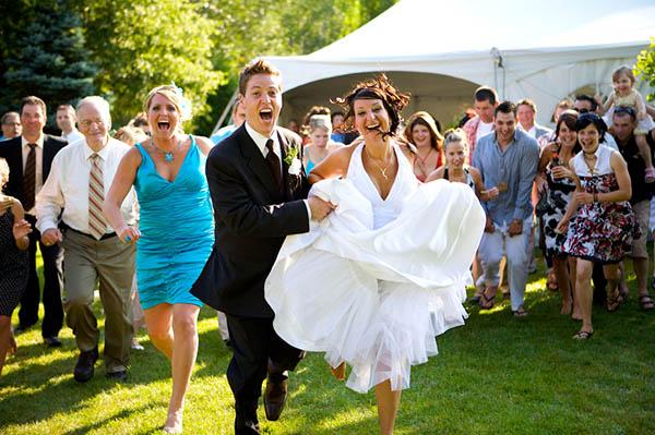 Свадебный конкурс: «Светлое будущее»