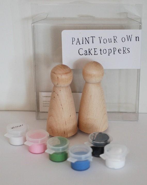 topper-dlya-svadebnogot-torta-2 Мастер класс: топперы фигурки  для свадебного торта