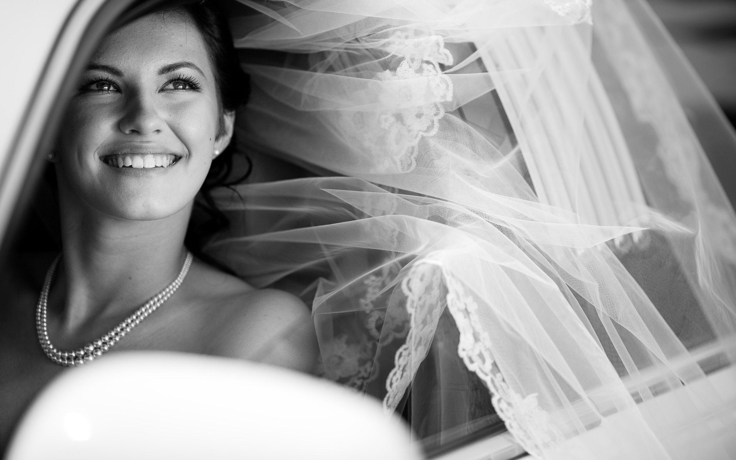 Улыбка – главное украшение для невесты