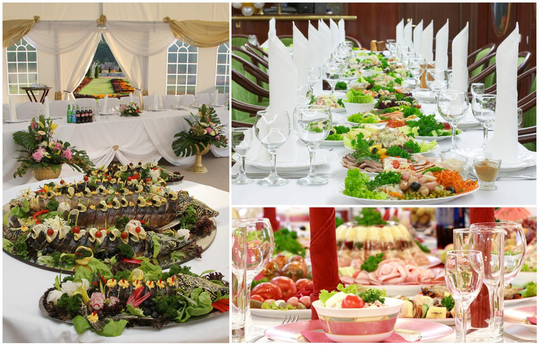 Что выбрать свадебный банкет или фуршет?