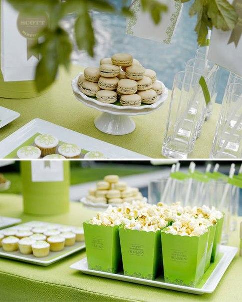 zelenyj-kendi-bar Свадьба в зеленом цвете