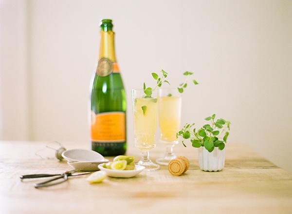 6 праздничных коктейлей с шампанским