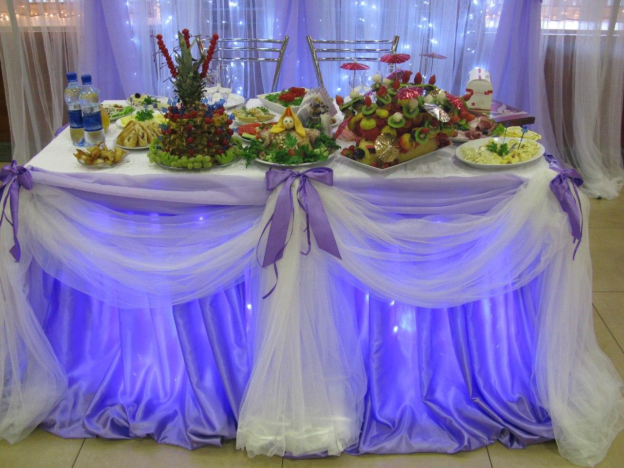 Оформление свадьбы: украшаем свадьбу тюлем