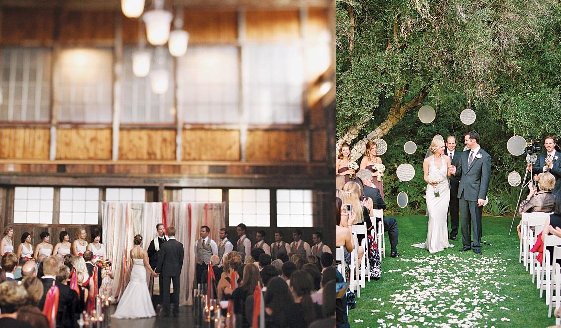 Необычные идеи декора для свадебного алтаря