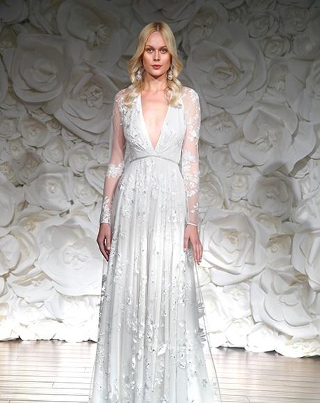 Trendy-2015-goda5 Тренды свадебных платьев 2015 года: длинные рукава
