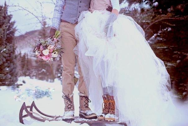 Обувь для зимней свадьбы, что выбрать?