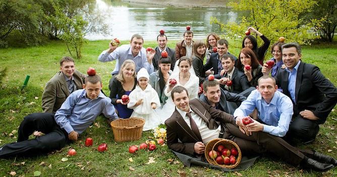 Фотосессия для гостей на свадьбе