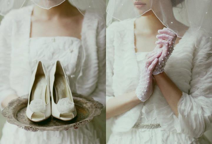 Свадебные перчатки для невесты, какие выбрать?
