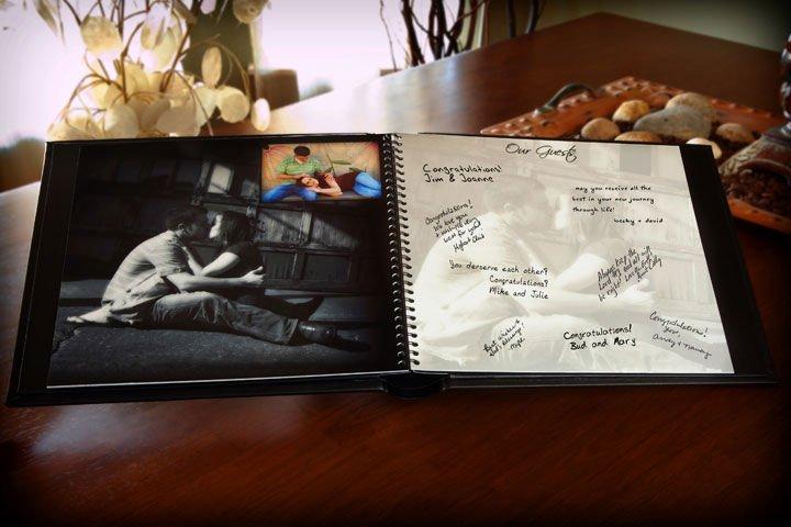 Персональный свадебный журнал – современный вариант подарка