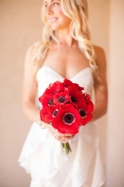 Anemony-v-svadebnom-bukete3 Анемоны в свадебном букете