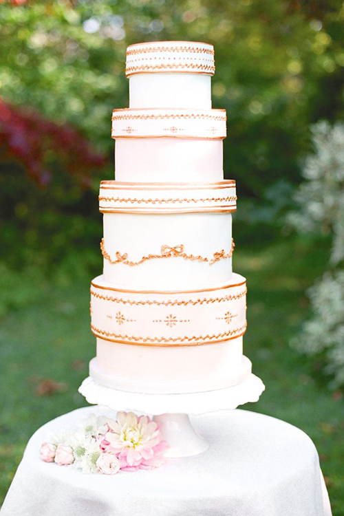 Idei-dlya-zimnej-svadby-tort-podarok4 Идеи для зимней свадьбы: торт подарок