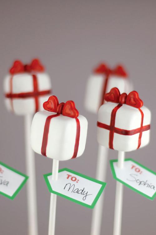 Idei-dlya-zimnej-svadby-tort-podarok6 Идеи для зимней свадьбы: торт подарок
