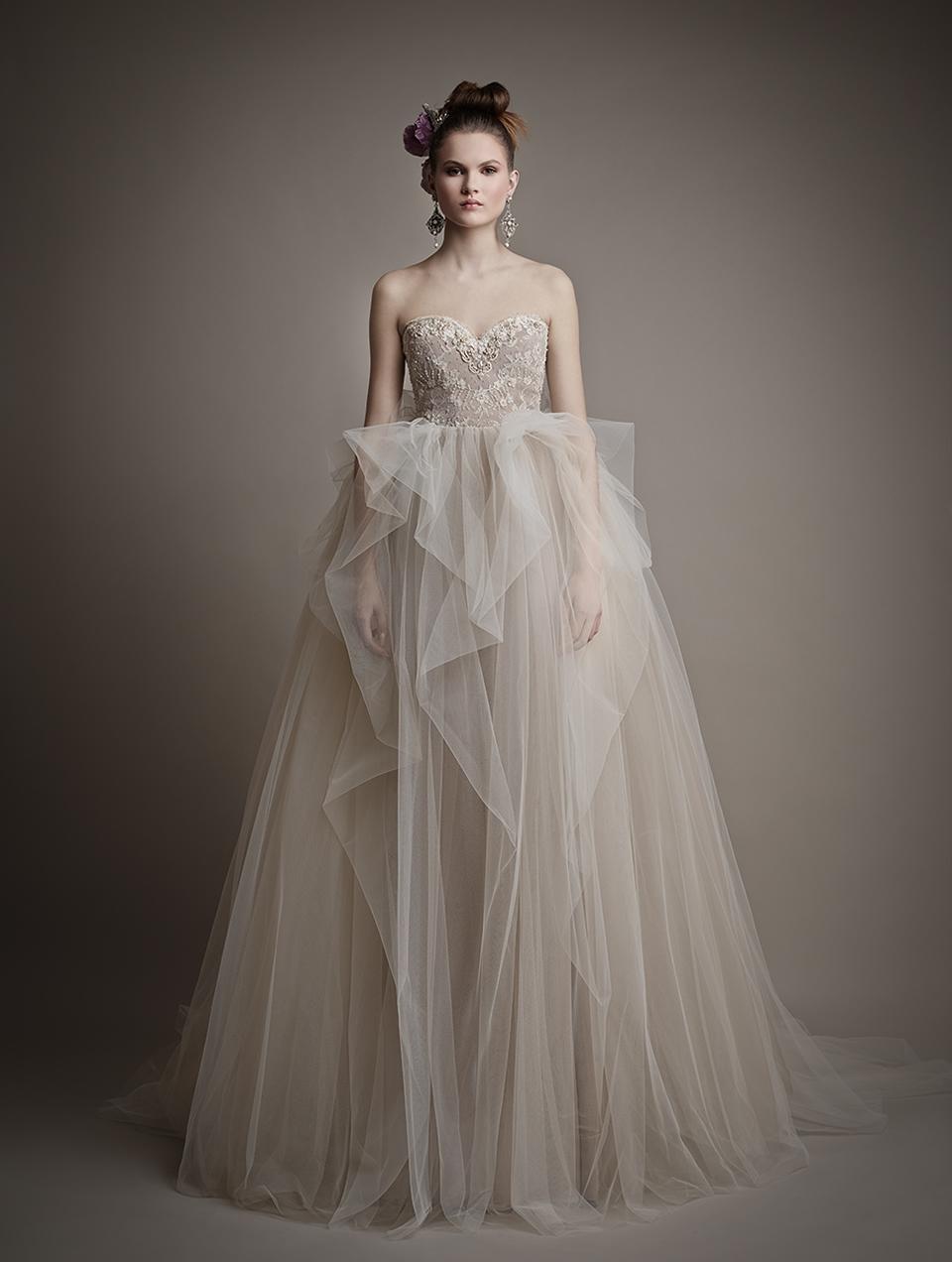 Коллекция свадебных платьев 2015 года от Ersa Atelier