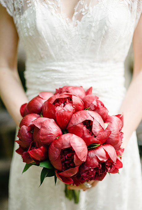 Krasnye-svadebnye-bukety1 Красные свадебные букеты
