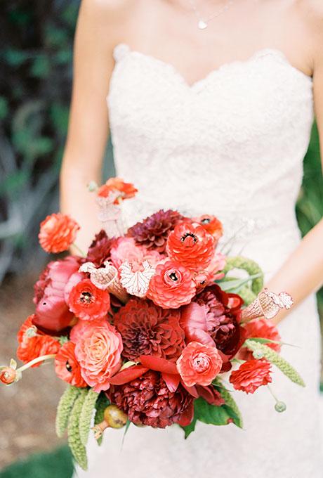 Krasnye-svadebnye-bukety11 Красные свадебные букеты