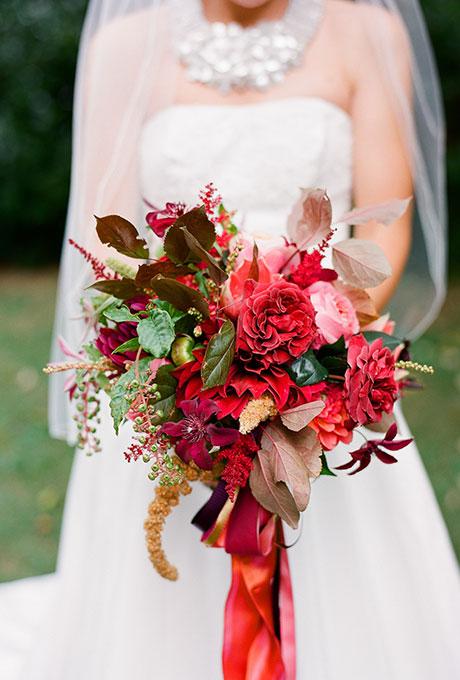 Krasnye-svadebnye-bukety16 Красные свадебные букеты
