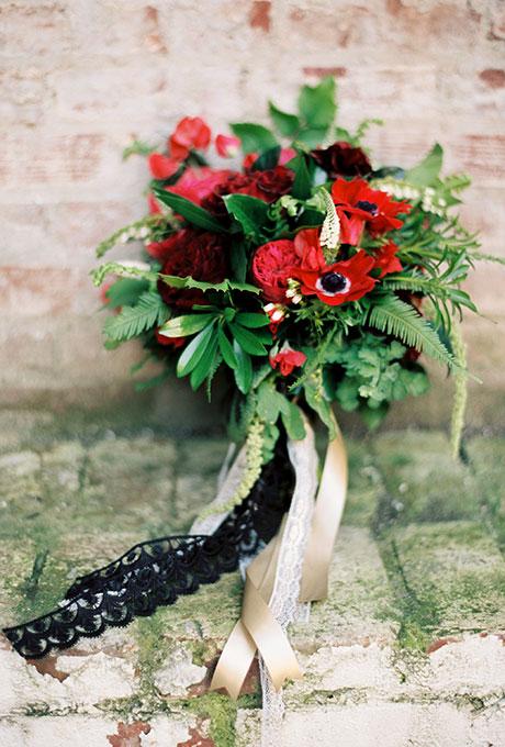 Krasnye-svadebnye-bukety2 Красные свадебные букеты