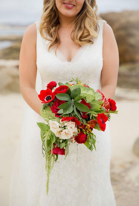 Krasnye-svadebnye-bukety3 Красные свадебные букеты