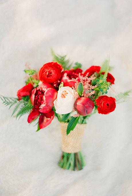 Krasnye-svadebnye-bukety5 Красные свадебные букеты