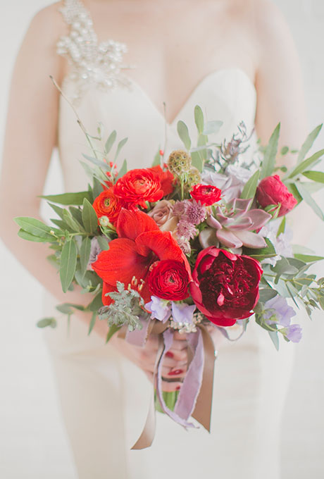 Krasnye-svadebnye-bukety6 Красные свадебные букеты