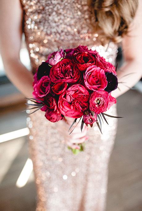Krasnye-svadebnye-bukety8 Красные свадебные букеты