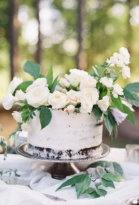 Odnourovnevye-svadebnye-torty1 Одноуровневые свадебные торты