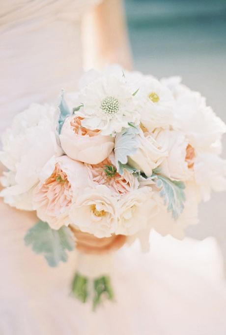 Svadebnye-bukety-v-persikovom-tsvete8 Свадебные букеты в персиковом цвете