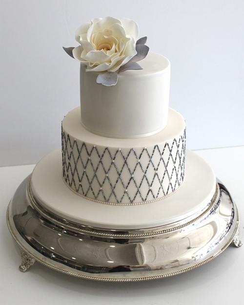 Svadebnye-torty-s-biserom2 Свадебные торты с бисером