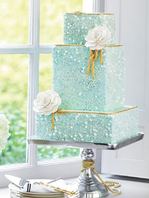 Svadebnye-torty-s-biserom7 Свадебные торты с бисером