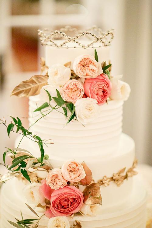 Svadebnye-torty-s-koronami1 Свадебные торты с коронами