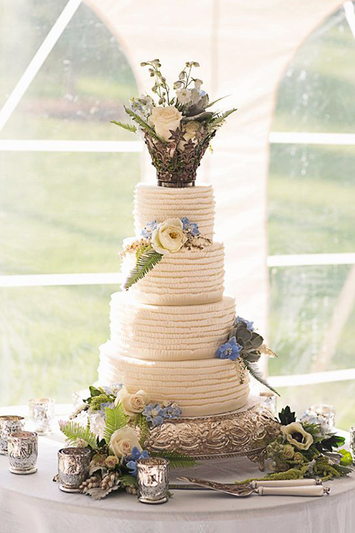 Svadebnye-torty-s-koronami2 Свадебные торты с коронами
