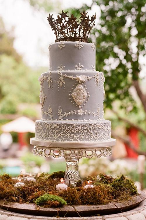 Svadebnye-torty-s-koronami6 Свадебные торты с коронами