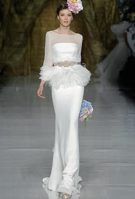 Trendy-2015-goda-dlinnye-rukava11 Тренды свадебных платьев 2015 года: длинные рукава