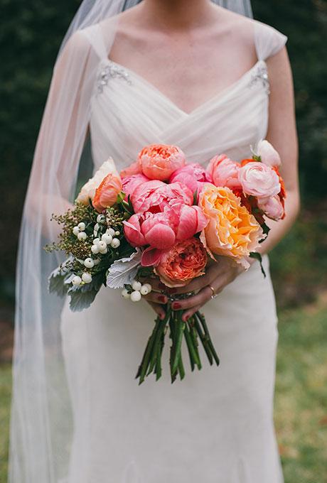 Velikolepnye-rozovye-svadebnye-bukety-6 Великолепные розовые свадебные букеты