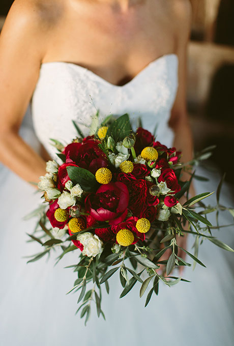 Zimnie-svadebnye-bukety15 Зимние свадебные букеты: выбираем зимний букет
