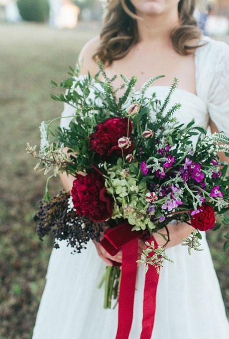 Zimnie-svadebnye-bukety9 Зимние свадебные букеты: выбираем зимний букет