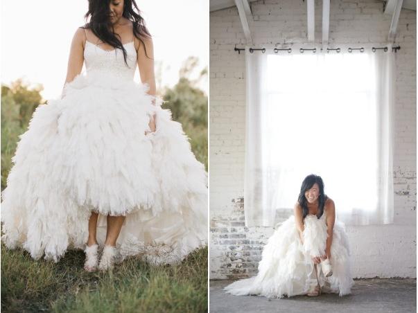 Коллекция свадебных туфель от Monique Lhuillier