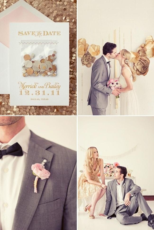 101 Свадьба в золотом цвете: королевский праздник