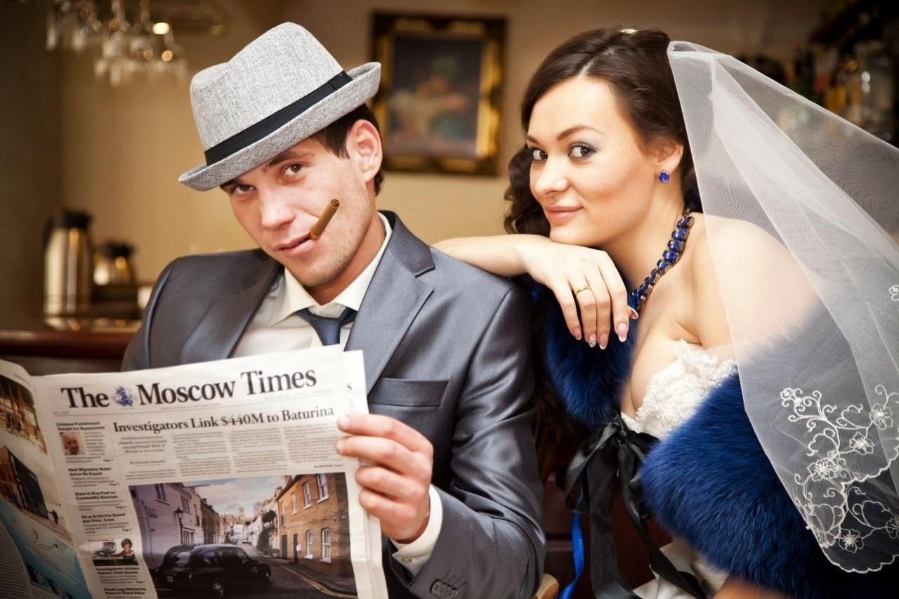 Шик и достоинство свадьбы в синем цвете