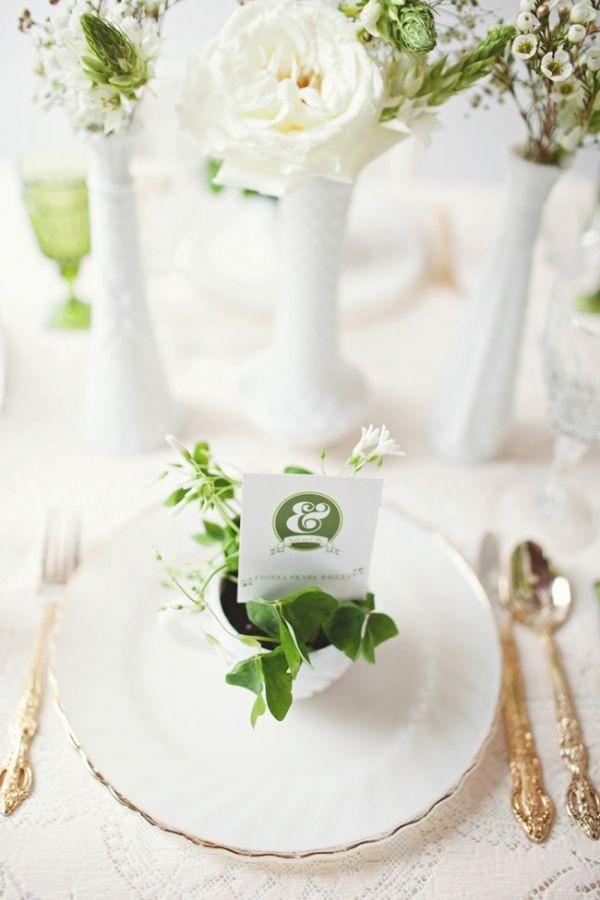 192 Свежая и гармоничная свадьба в зеленом цвете