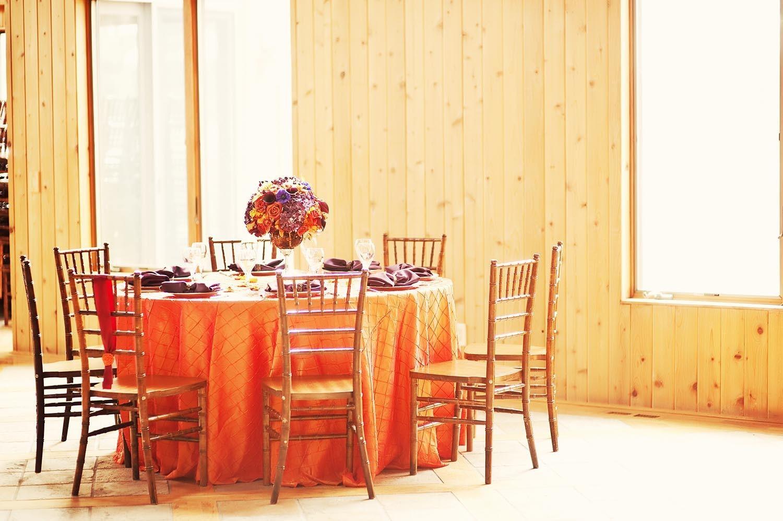 Энергичная и сочная свадьба в оранжевом цвете