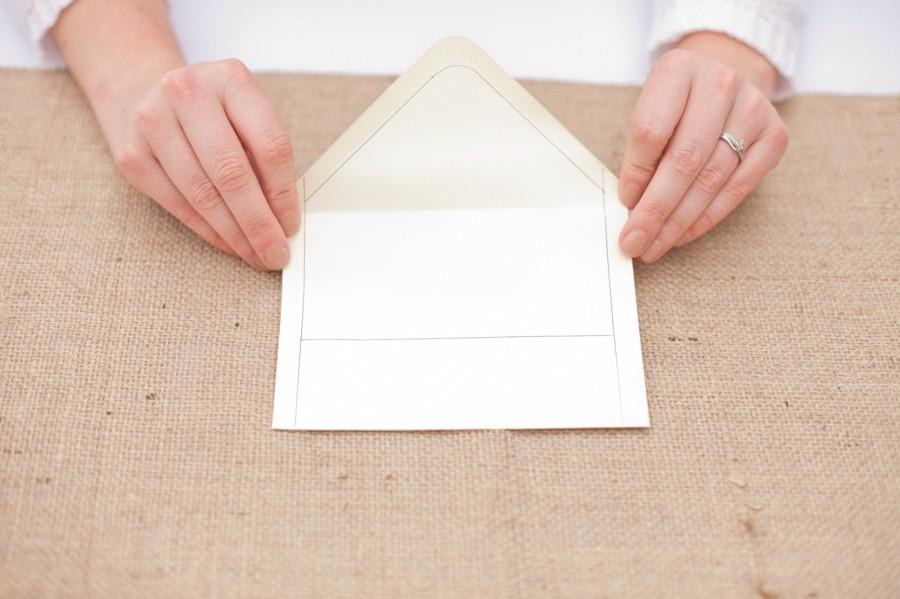 545 Мастер-класс: оригинальный конвертик для свадебных приглашений
