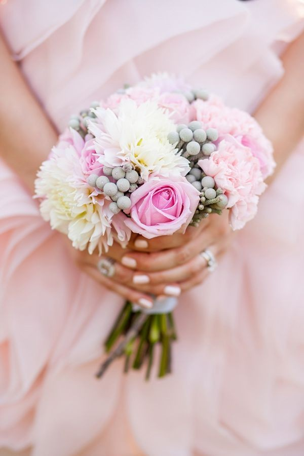 717 Нежная и стильная свадьба в сером и розовом цветах