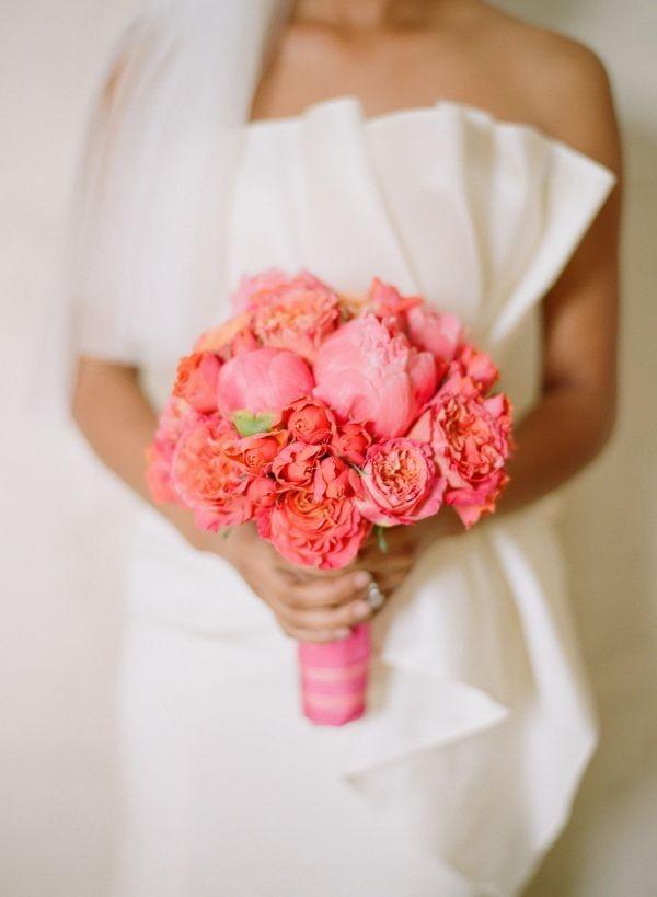 89 Эффектная и интригующая свадьба в коралловом цвете