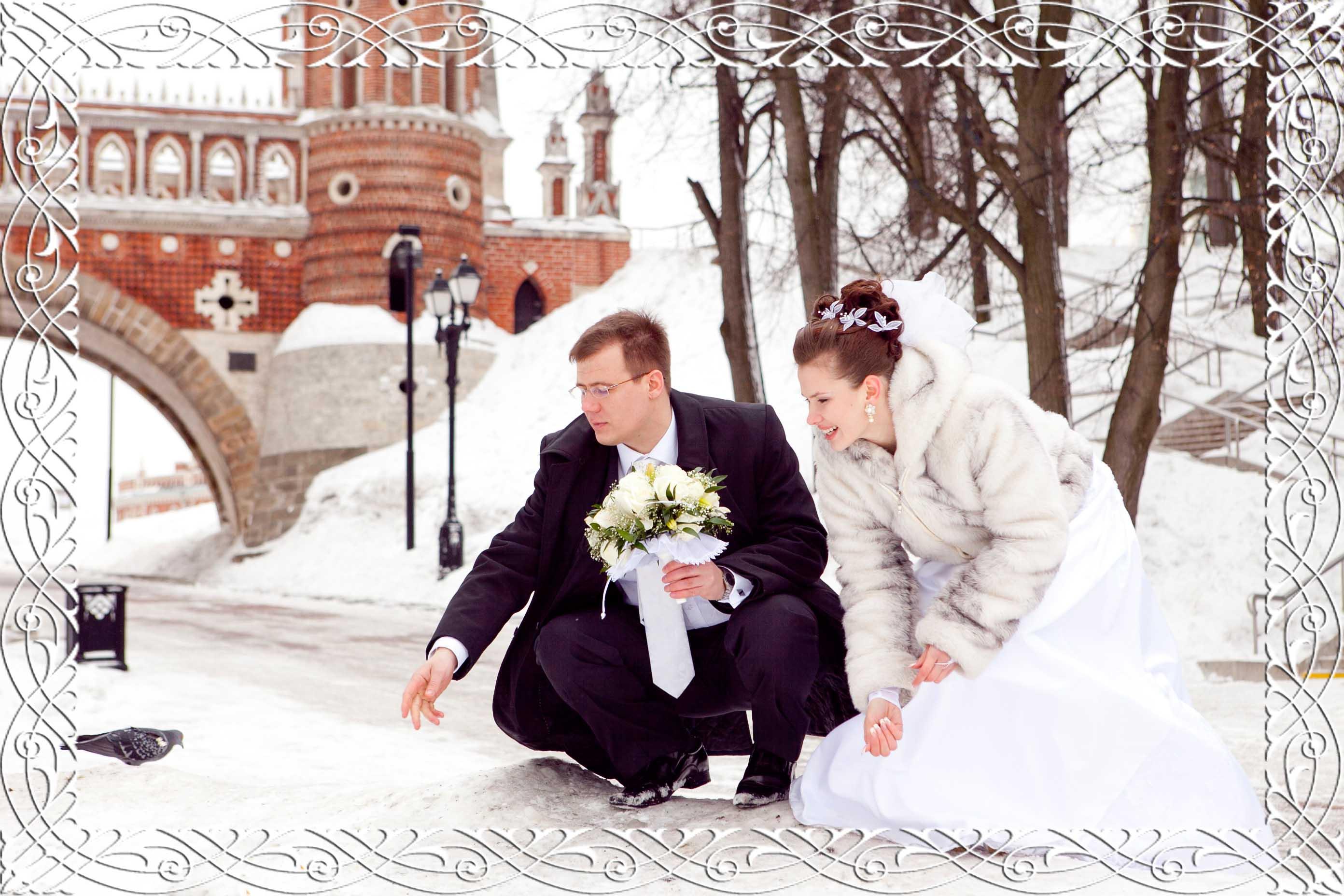 Svadba_zimoy Зимняя верхняя одежда для жениха
