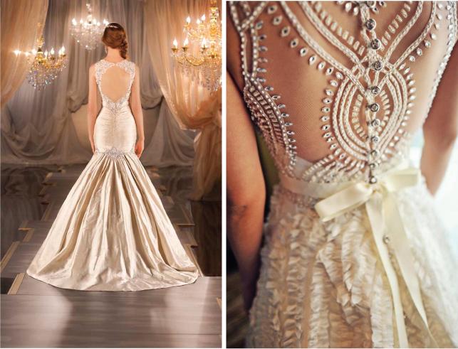 Svadebnye-platya-s-kruzhevnoj-spinoj1 Свадебные платья с кружевной спиной