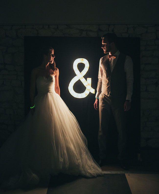 """fotostena-Ampersand Свадьба в стиле """"Амперсанд"""": используем один символ ключевым декоративным моментом на своем празднике"""