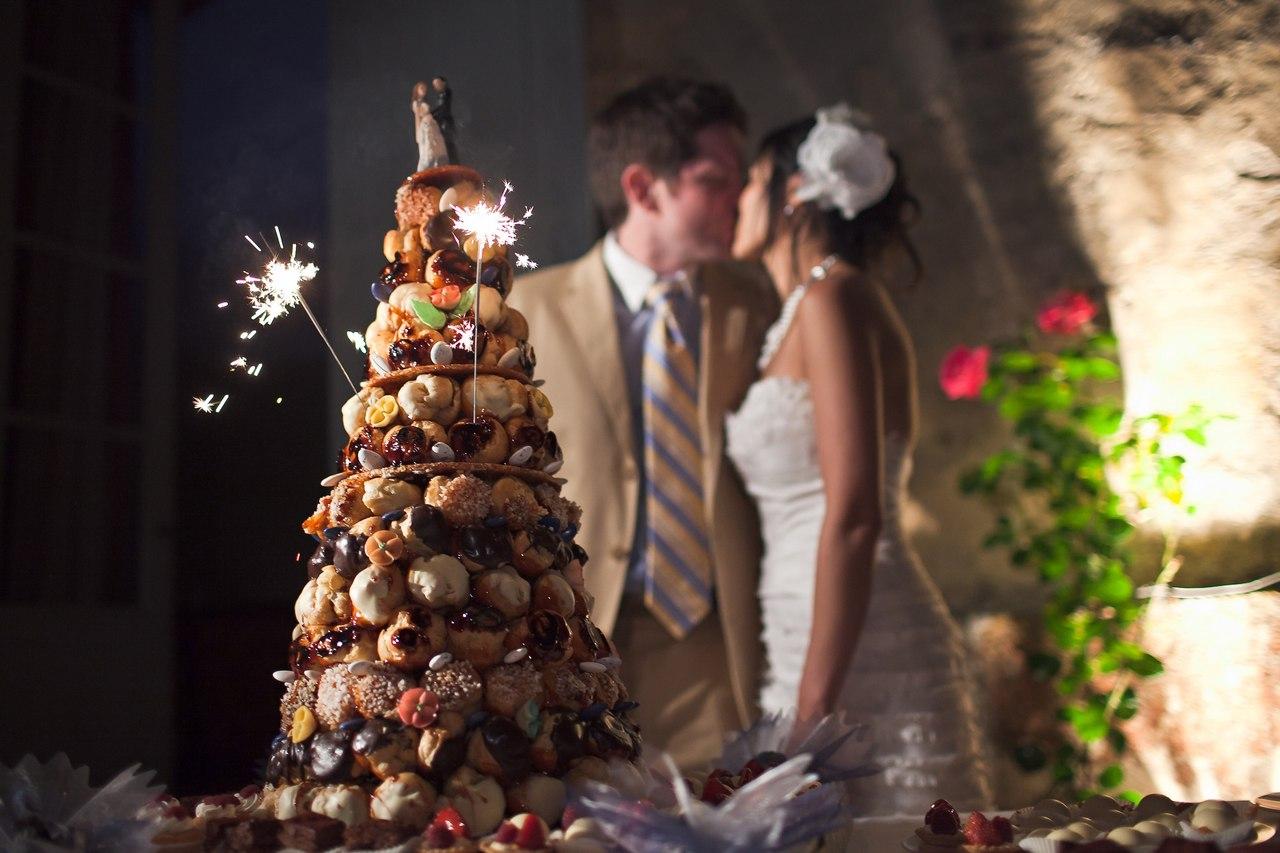 Французские сладости для свадьбы